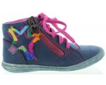 Ankle support high top boots for girls by Prada