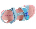 Blue sandals for girls Agatha Ruiz de la Prada