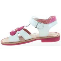 Jola White - Girl Hard Bottom Walking Sandals