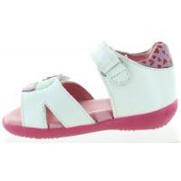 Kalana White - Closed Back Baby New Walking Sandal