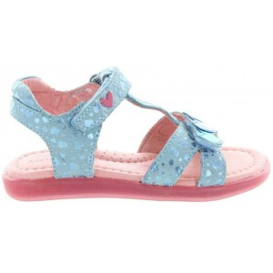 Blue summer sandals from Spain by Prada
