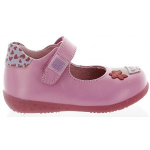 Pink new walking mary janes for slim ankles