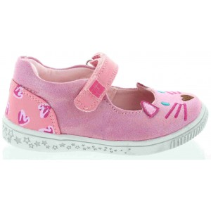 Baby shoes with arches pink pradas