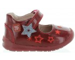 Baby with good arch red leather walkers