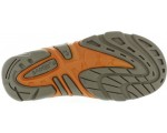 Lather sandals for boys with heel support