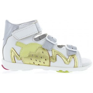 Baby sandals with high support extra wide