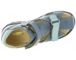 Child sandals for high instep