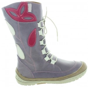 Tall purple boots for girls waterproof