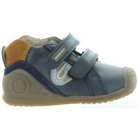 Waldus Blue - Anti Smell Feet Best Toddler Leather Shoes