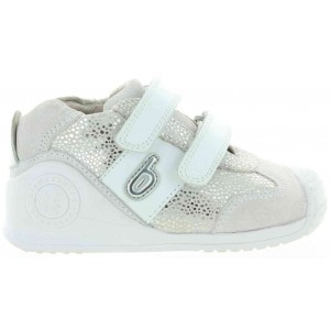 Biomecanics athletic silver shoes for child