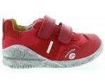Sneakers for a toddler with support in red