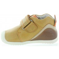 Sab Beige - Soft Beige Leather Toddler Shoes