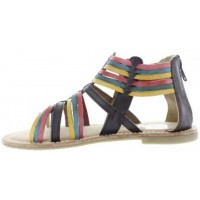 Brida Brown - French Fashion Kids Sandals for Teens