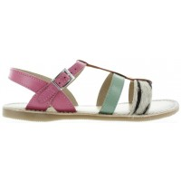 Fabiola Rose - Cute Leather Sandals for Young Women