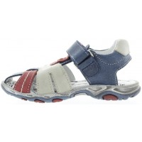 Alban Blue - European Boys Wide Sandals
