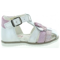 Astro White - Baby Orthopedic High Suport Walking Sandals Girls