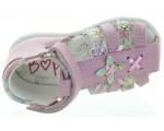 Leather sandals for infants