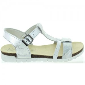 Youth girl silver summer shoes