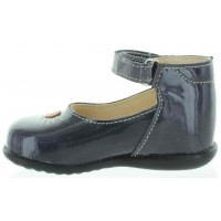 Fuma Gray - Hard Sole High Top New Walker Shoes for Babies
