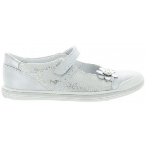 Silver mary janes made in Europe for girl