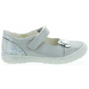 Support ankle leather mary janes for girls