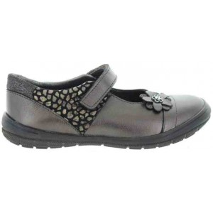 Casual shoes for children in brown leather