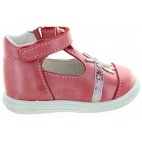 Zolita Orange - Breathable Leather Baby Shoes