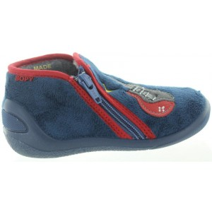 Slippers out of quality wool made in France