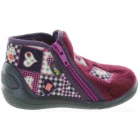 Apatch Burgundy - Special Slippers for Kids with Support