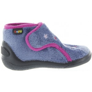 Warm wool orthopedic slippers for kids
