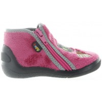 Witch Pink - Toddler No Slip House Shoes with Arches