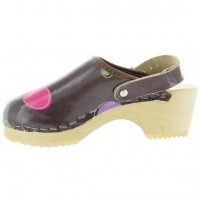 Choco Dots - Clogs for Children from Sweden