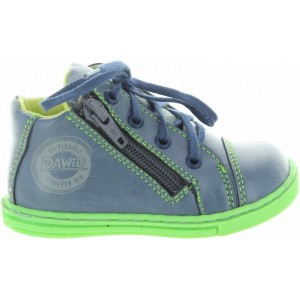 Shoes for toddlers in blue leather