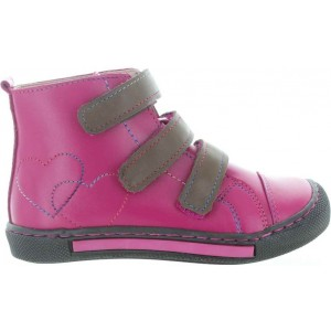 Boots for kids with sturdy heel