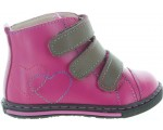 Pink orthopedic toddler boots