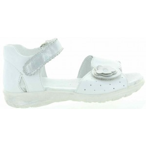 Weak ankles preventive white girls sandals
