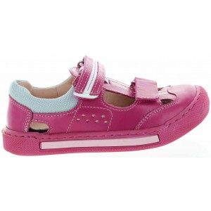 Child with heel support orthopedic sandals