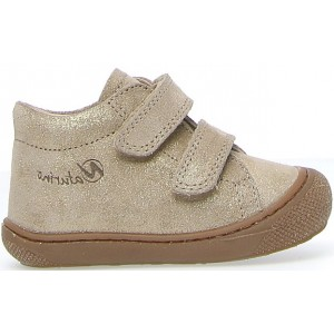 Shoes for baby girls in natural leather