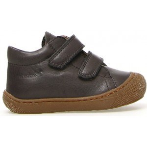 Brown sneakers for a boy
