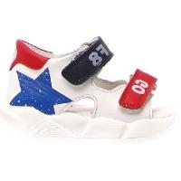 Brimi White - Bow Legs Sandals for Kids Weak Ankles