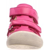 Pedro Fuschia - Natural Leather Sandals for Baby Girls
