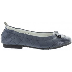 Navy dress flats for girls with good arches