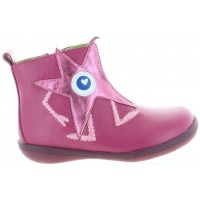 Bermuda Pink - Cool Leather Designer Ortho Boots