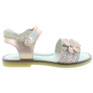 Garvalin gold child summer shoes