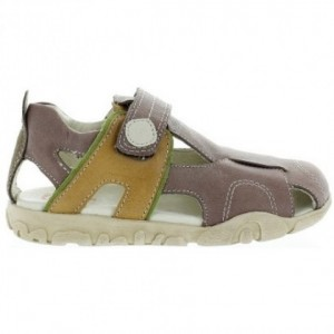 Sandals for kids with good arch made with leather