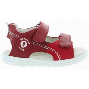 Boys red sandals from Spain