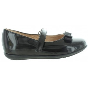 Shoes for girl in black leather from Garvalin
