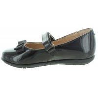 Bobra Black - School Shoes made in Spain