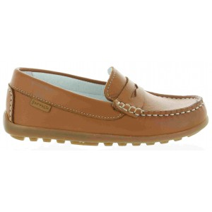 Garvalin good support leather slip on loafers