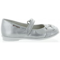 Evine Silver - Silver Dress Shoes Girls with Arches